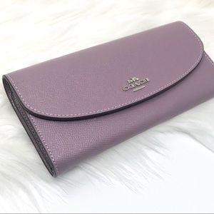 COACH Slim Envelope Wallet Jasmine NWT